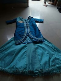 teal and blue traditional dress Kanpur, 208001