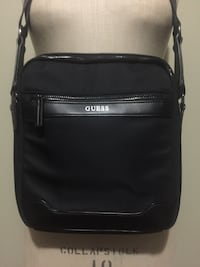 Guess black leather side bag Toronto, M9W 7C7