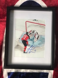 Jonathan Huberdeau Signed and framed photo  Châteauguay, J6K