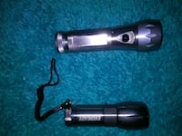two gray-and-black Eveready flashlights Westminster, 80031