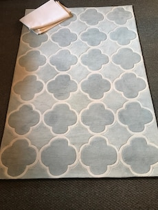 Rug and rug pad. 5 by 7