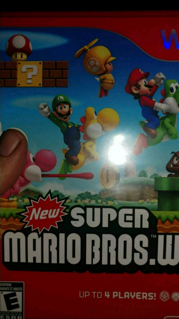 Super Mario Brothers Wii