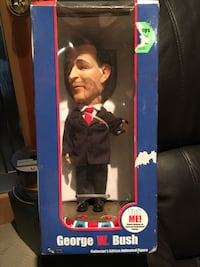 George w. Bush Talking figure! In original box!  Vaughan, L4J 0E8