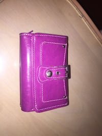 pink leather trifold wallet Toronto, M9P 2J3
