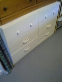 white wooden 4-drawer dresser Fraser Valley, V2V 7M2
