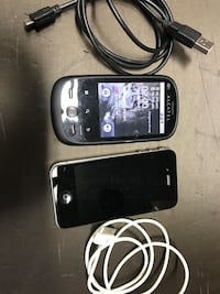 iPhone 4 e alcatel one touch
