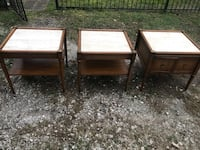 Mid century side/end tables  Houston, 77008
