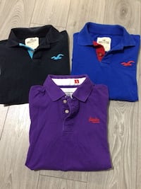 two blue and red polo shirts Vaughan, L4H 3L9