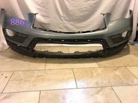 Infinity qx50 2015 and 2016 and 2017 front bumper  MORENOVALLEY