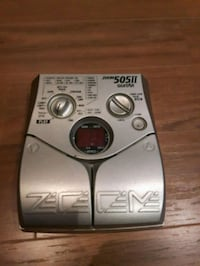 Zoom 505ii multi-function guitar pedal Mississauga, L5B 4K3