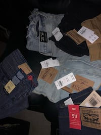 assorted-color-and-brand clothes lot Baltimore, 21216