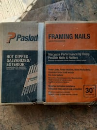 Framing nails