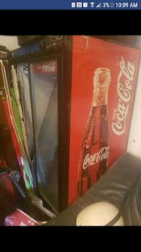 old coca-cola fridge  Brechin, L0K 1B0