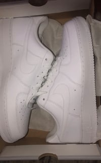 White  air force 1s cash app or venmo only dm me dont waste time