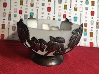 Godinger Silver Palm Tree Frosted Bowl(Firm Price) Pick Up Only )No holds  Summerville, 29486