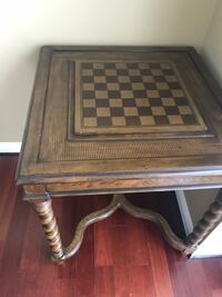 Wood chess table Walled Lake, 48390