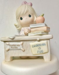 """Precious moments figurine: """"you're just perfect in my book"""" Pickering, L1X"""