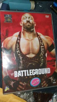 WWE wrestling DVD Battleground 2013