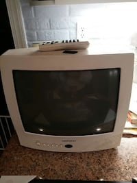"""Daewoo 14"""" TV with Remote Cable Ready"""