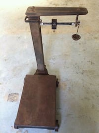 Early 1900's Fairbanks Morse 1000lb. Industrial  Floor Scale Mooresville, 28117