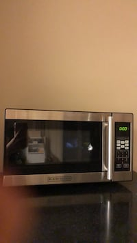 stainless steel Emerson microwave oven Washington, 20016