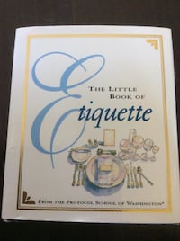 """The Little Book of Etiquette"" mini book"