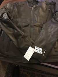 Genuine Leather Motorcycle Jacket  Springfield, 01109