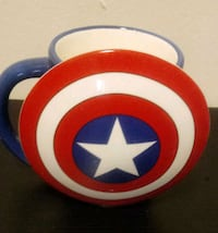 Captain America molded mug Baltimore, 21205