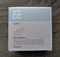 BNIB // The Face Shop FACE it Aura CC Cream #2 Natural Beige  Richmond
