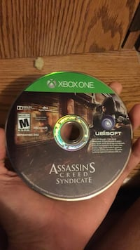 Xbox One Assassin's Creed game disc