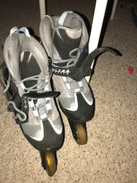 pair of gray-and-black inline skates Montgomery Village, 20886