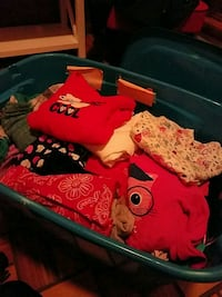 Large tote of girls clothes, size 5-7.  Oswego, 13126