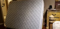 quilted white and gray mattress Kitchener, N2G 3G9