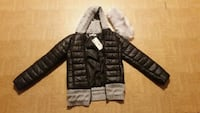 Brand New Black Jacket with detachable fur collar Mississauga