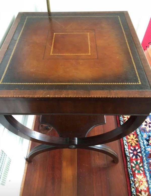 Wobbly antique table  1a15713a-d616-4672-abe8-f9cb9aa1d2b9