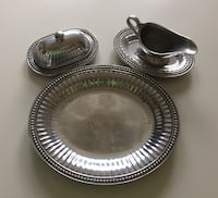 Wilton Armetale flutes and pearls serving ware Alexandria, 22307