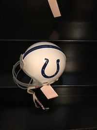 Indianapolis Colts Authentic Full Size NFL Helmet Vaughan, L4H 0V3