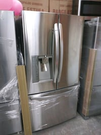 LG 36in stainless steel French door refrigerator