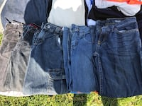 Boys pants size 7/8  ($10 for all 9 pairs ) 82 km