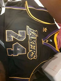 black and yellow Los Angeles Lakers jersey Scottsdale, 85257