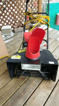 """""""""""ELECTRIC SNOW THROWER"""" 18 IN / CUT"""