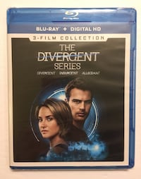 The Divergent Series Blu-ray Tulare, 93274