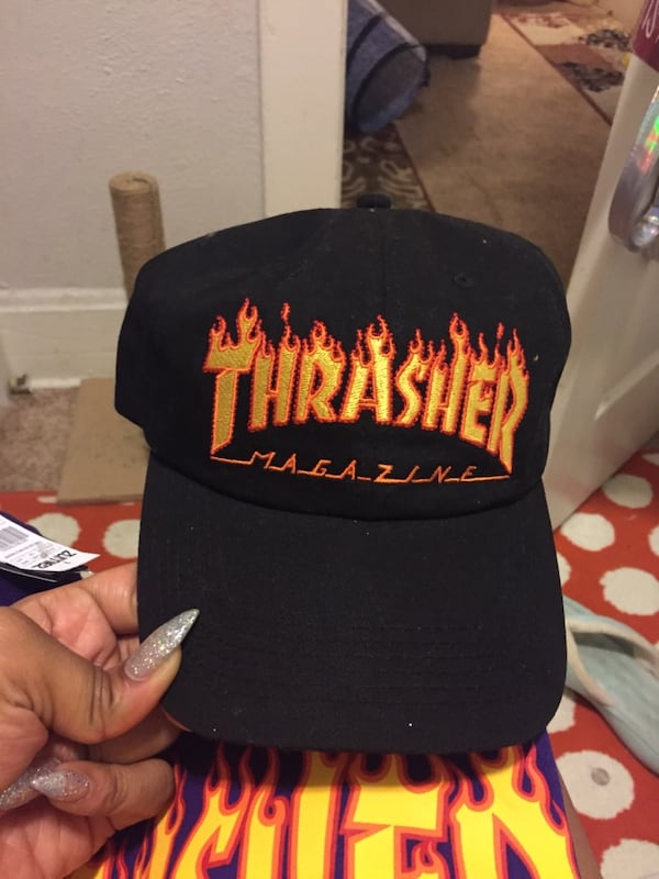 2 FOR $20 Thrasher shirt and hat d01c2866-7762-4e10-a87f-9d06056541c5