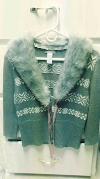 Frost sweater large w/ genuine Angora collar Keller, 76248