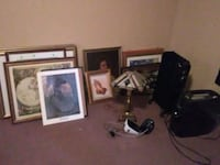 Wall pictures, shredder, blood pressure pump automatic, lamp, heater Hagerstown