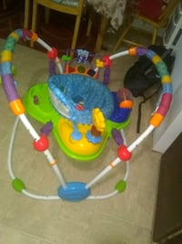 baby's multicolored jumperoo clean  Edmonton, T5H 0J7