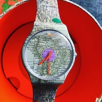 Swatch this is my map Teià, 08329