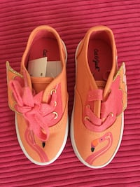Girl's sneakers, shoes  size 7 NEW