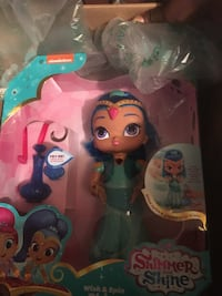 Shimmer and Shine Wish & Spin plastic toy set