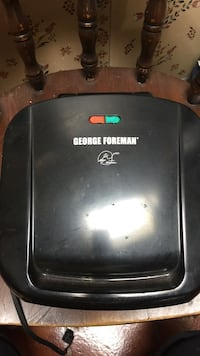 Black george foreman electric grill Waldorf, 20601